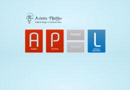 <h4>Website arlettepfeiffer.com</h4>Gestaltung und Umsetzung in Wordpress.