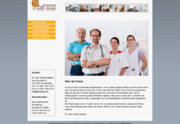 <h4>Website drcapitani.ch</h4>