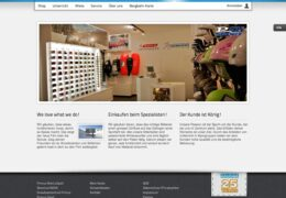 <h4>Website primussport.ch</h4>