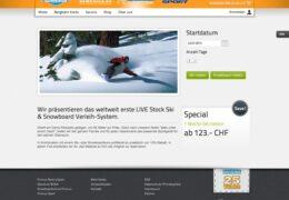 <h4>Website snowboardschule.com</h4>